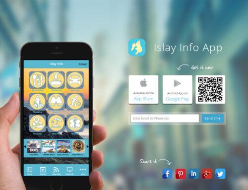 Islay Info Launches an App